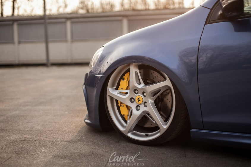 GOLF GTI 372HP / 20' Ferrari Rims + Air Suspension + E level