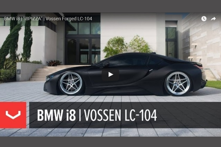 BMW i8 | 'i8PIZZA' | Vossen Forged LC-104