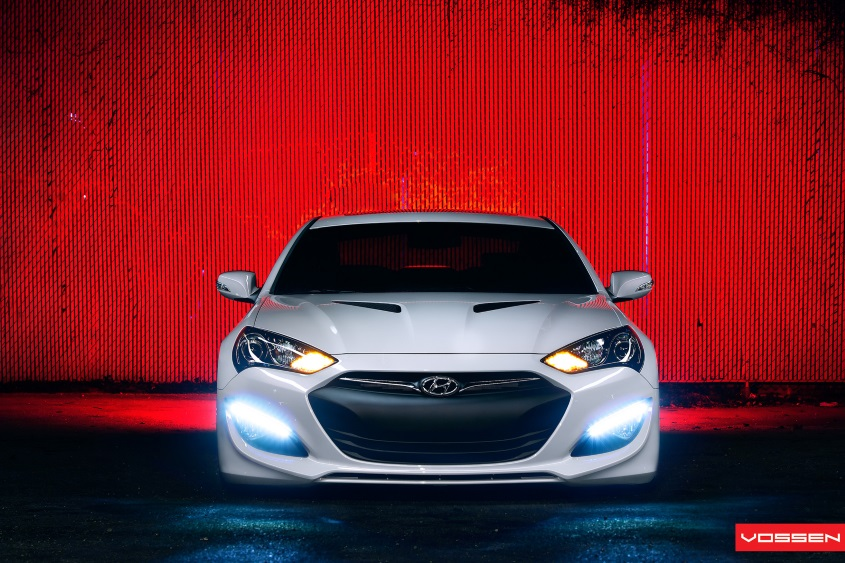 Hyundai Genesis | 20' Vossen CV4 Concave | Air Suspension